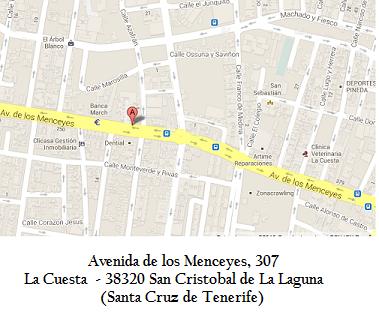 mapa de localización del colegio